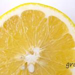 雨の季節はお日様の様にハッピーで明るい香りを・・・グレープフルーツ